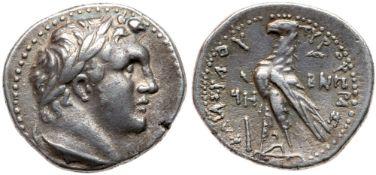 Phoenicia, Tyre. Silver 1/2 Shekel (6.91 g), ca. 126/5 BC-AD 65/6. VF