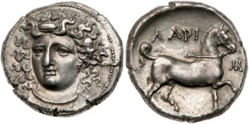 Thessaly, Larissa. Silver Stater (11.90 g), ca. 356-342 BC. AU