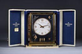 Atmos de Jaeger Lecoultre model Marina with box