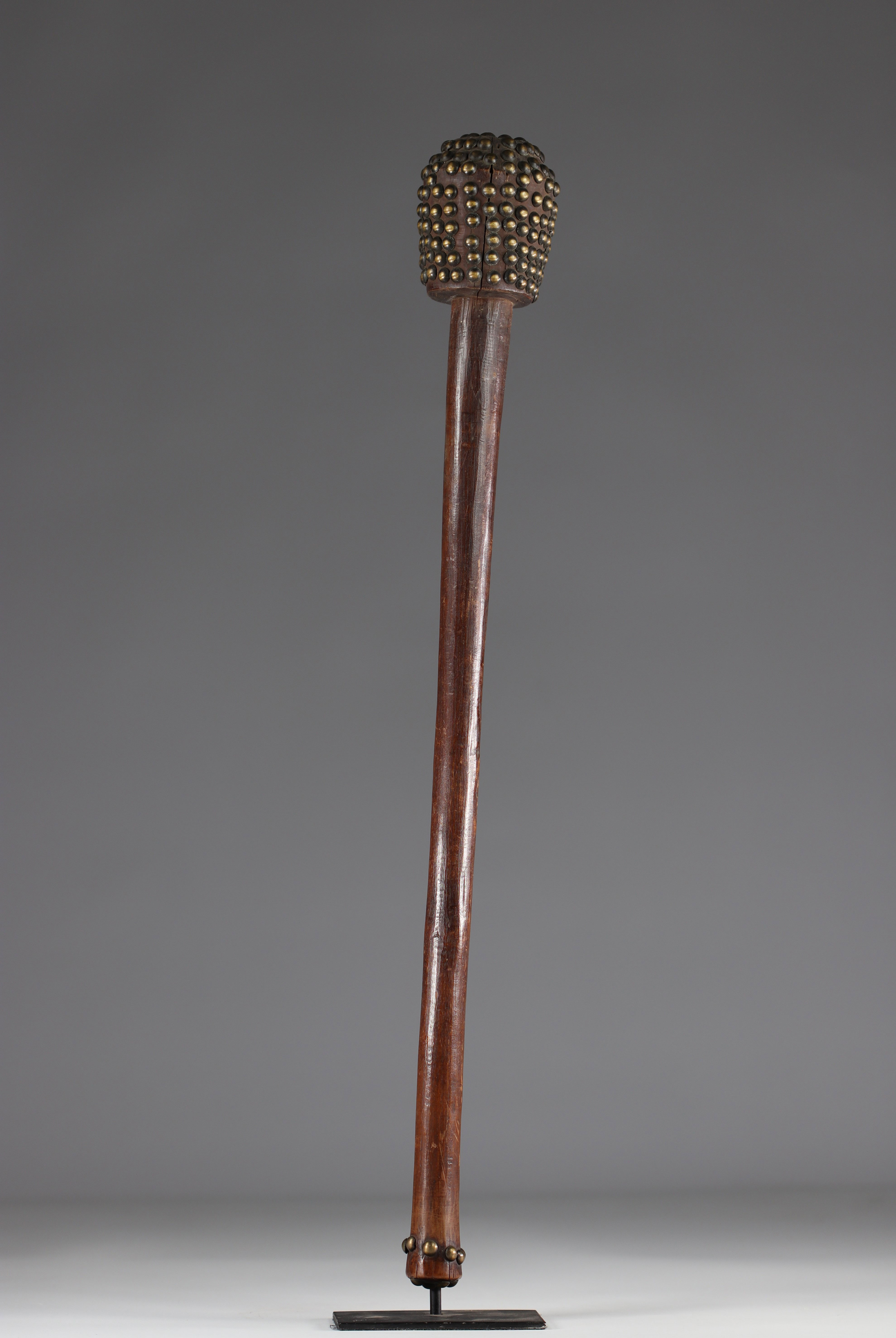 Tchokwe club - coll. private Belgian - early 20th century - DRC - Africa