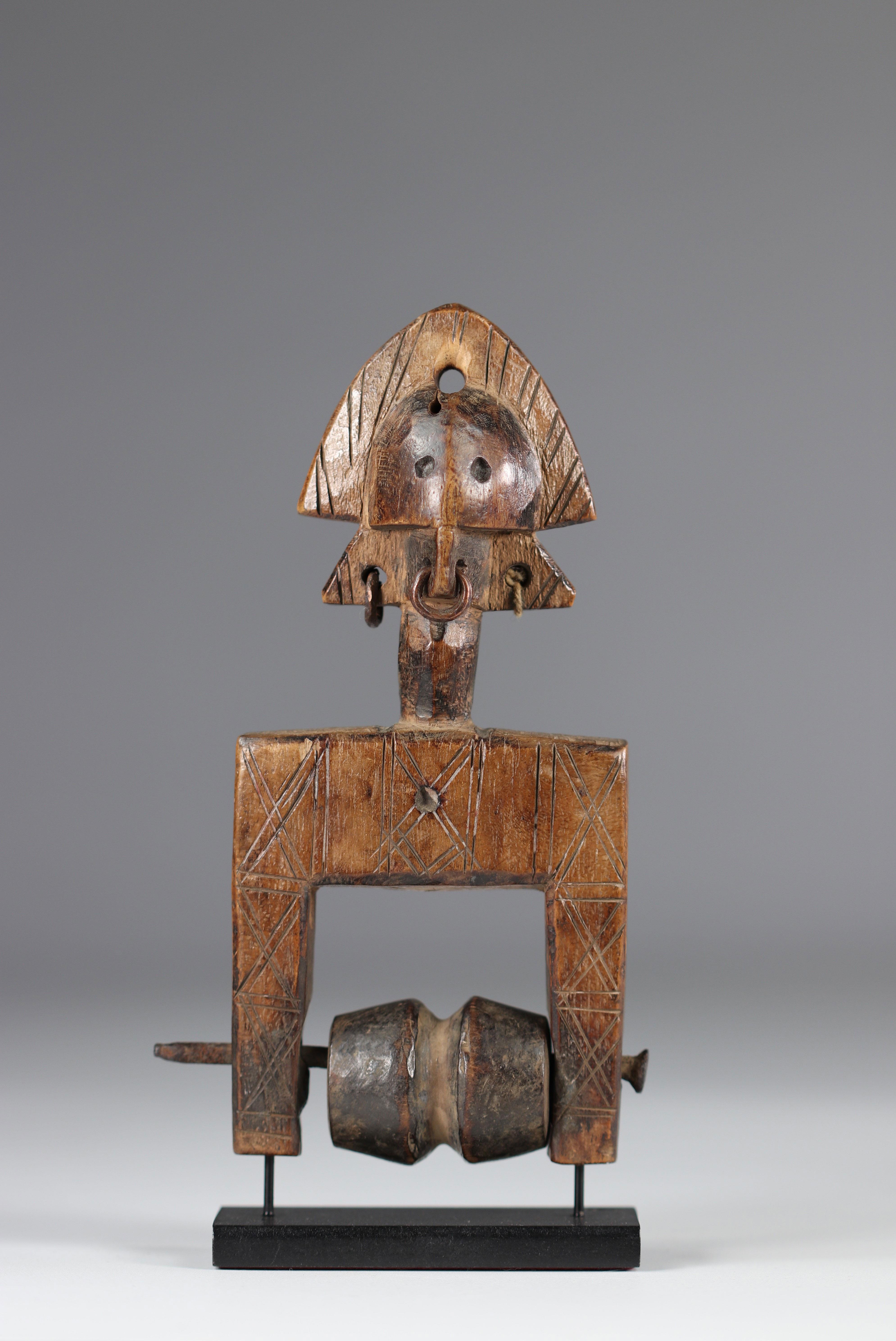 Bamana Ivory Coast mid 20th century pulley