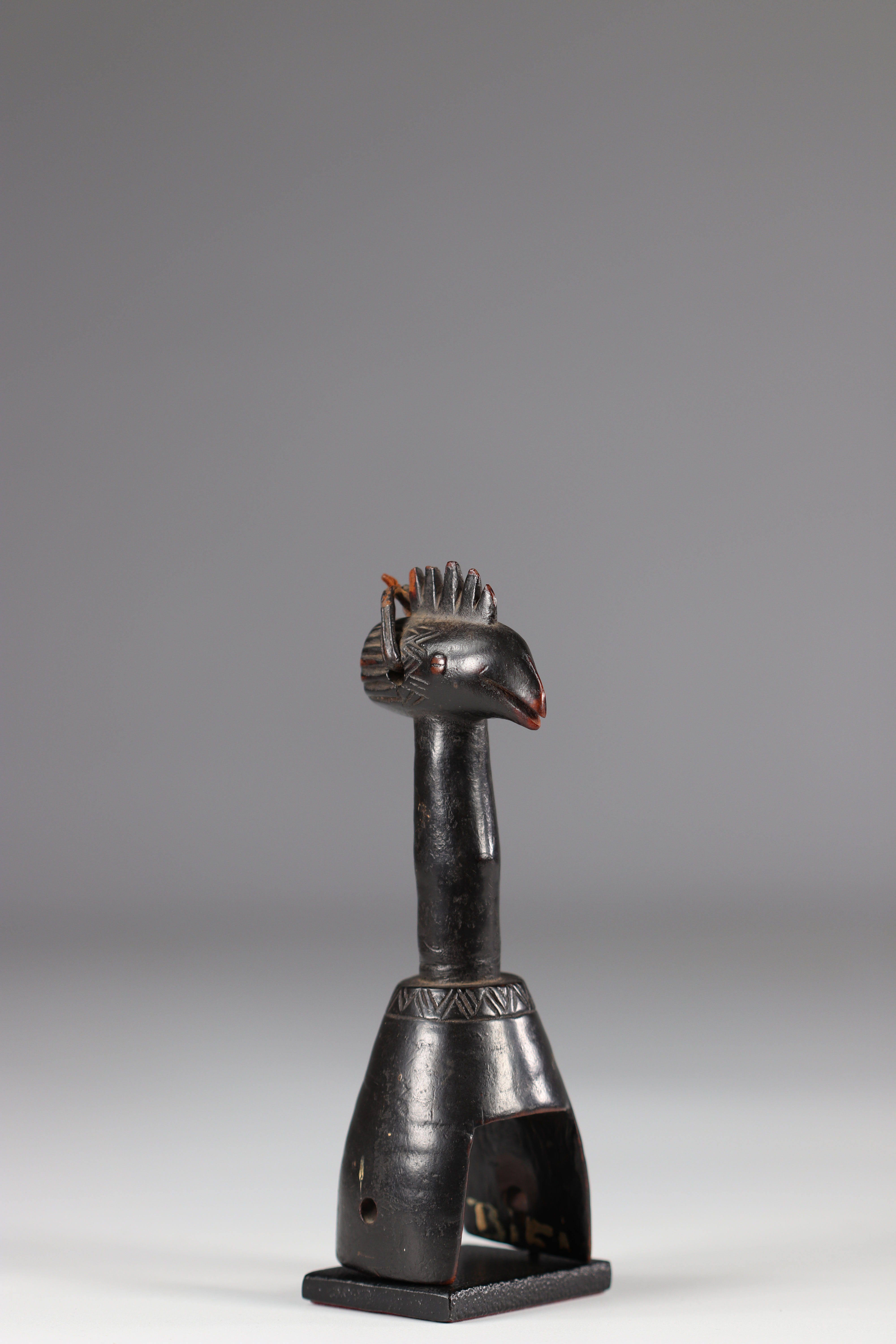 """Beautiful Gouro C""""te D'Ivoire pulley early 20th century - Image 3 of 5"""