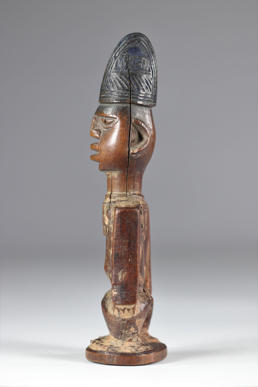 Ibedji statue - Yoruba - mid 20th century - ex: Voorhuis - Image 3 of 5