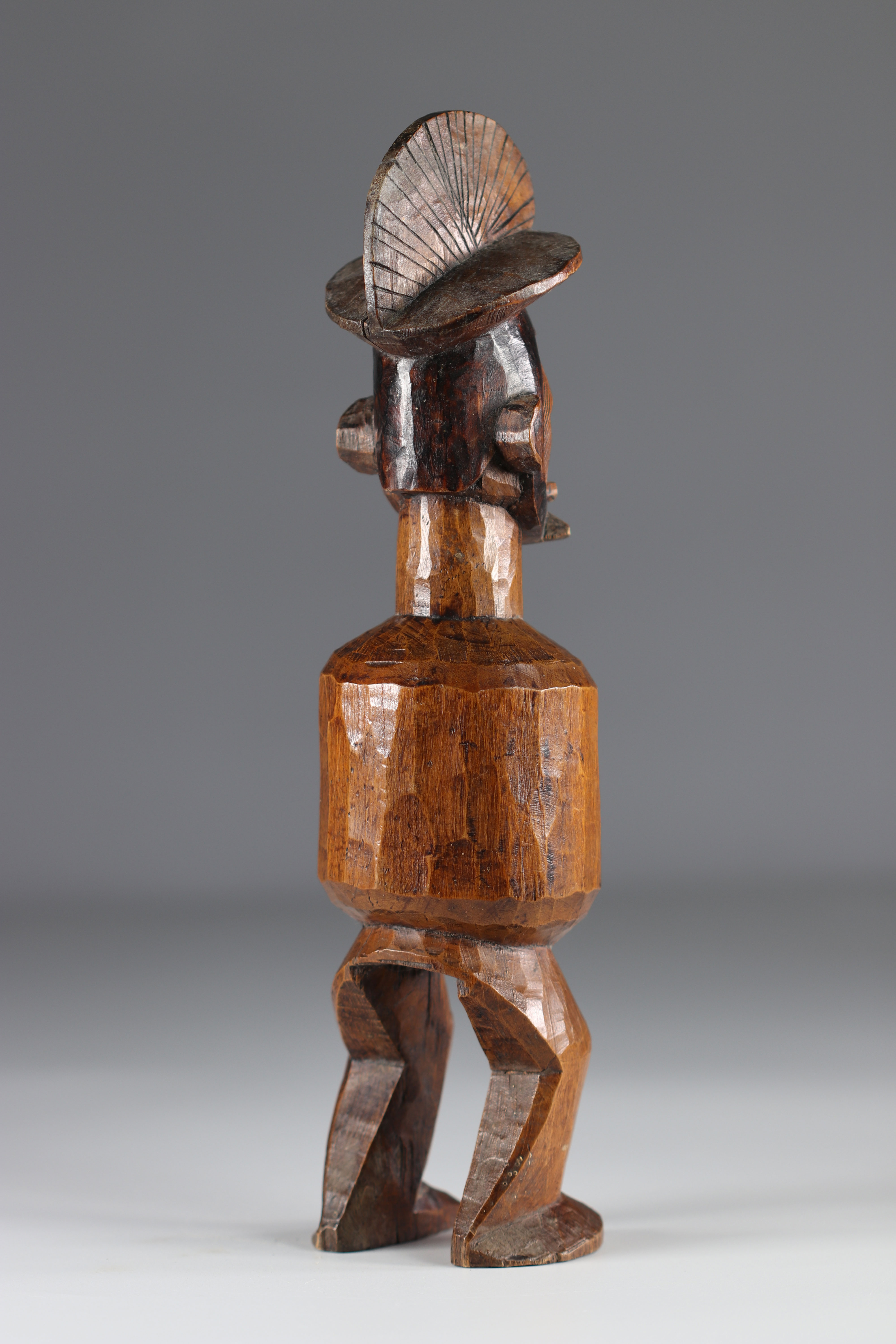 Teke ancestor statue - Early 20th Africa - DRC - Image 5 of 5