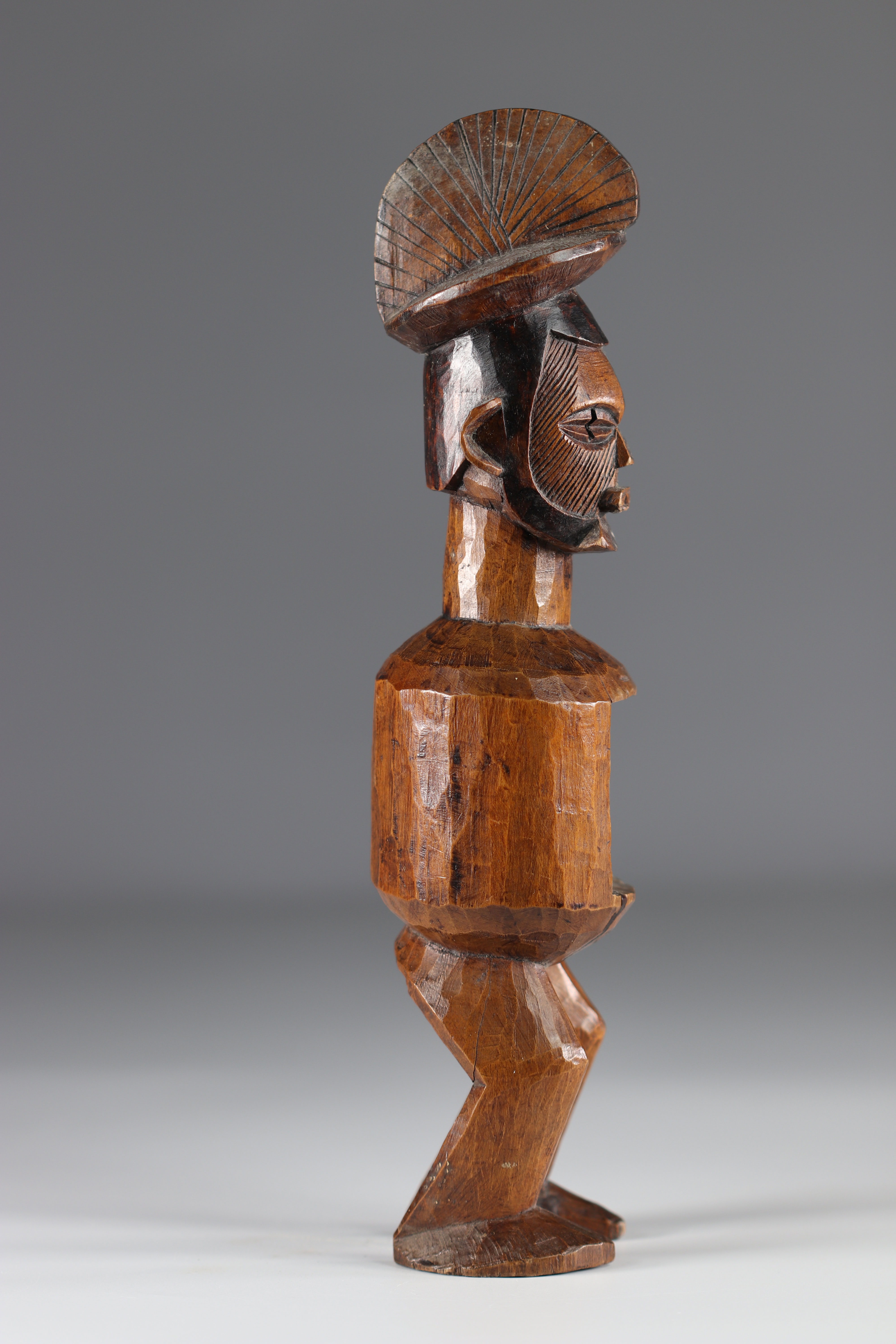 Teke ancestor statue - Early 20th Africa - DRC - Image 4 of 5