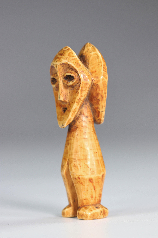 Statuette janus Lega DRC Ivory - mid20th