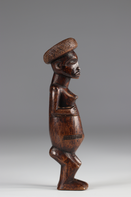 Lwena snuffbox - 20th century - DRC - Africa - Image 4 of 5