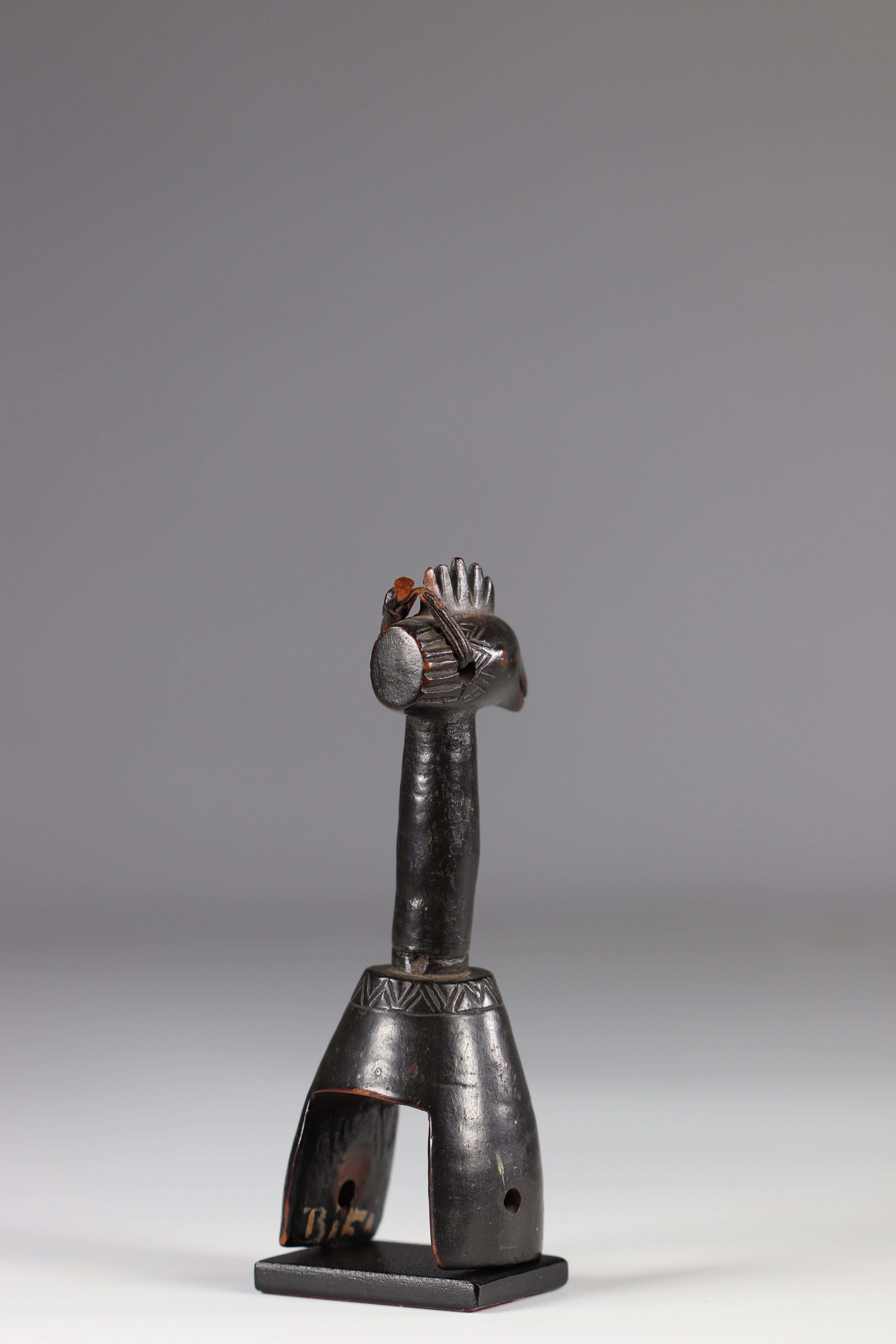"""Beautiful Gouro C""""te D'Ivoire pulley early 20th century - Image 5 of 5"""