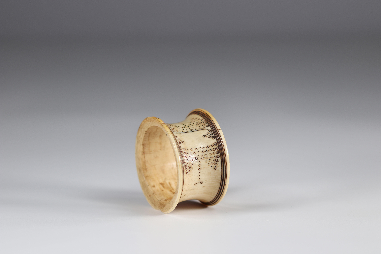 Ivory Zande bracelet - early 20th century - DRC - Africa