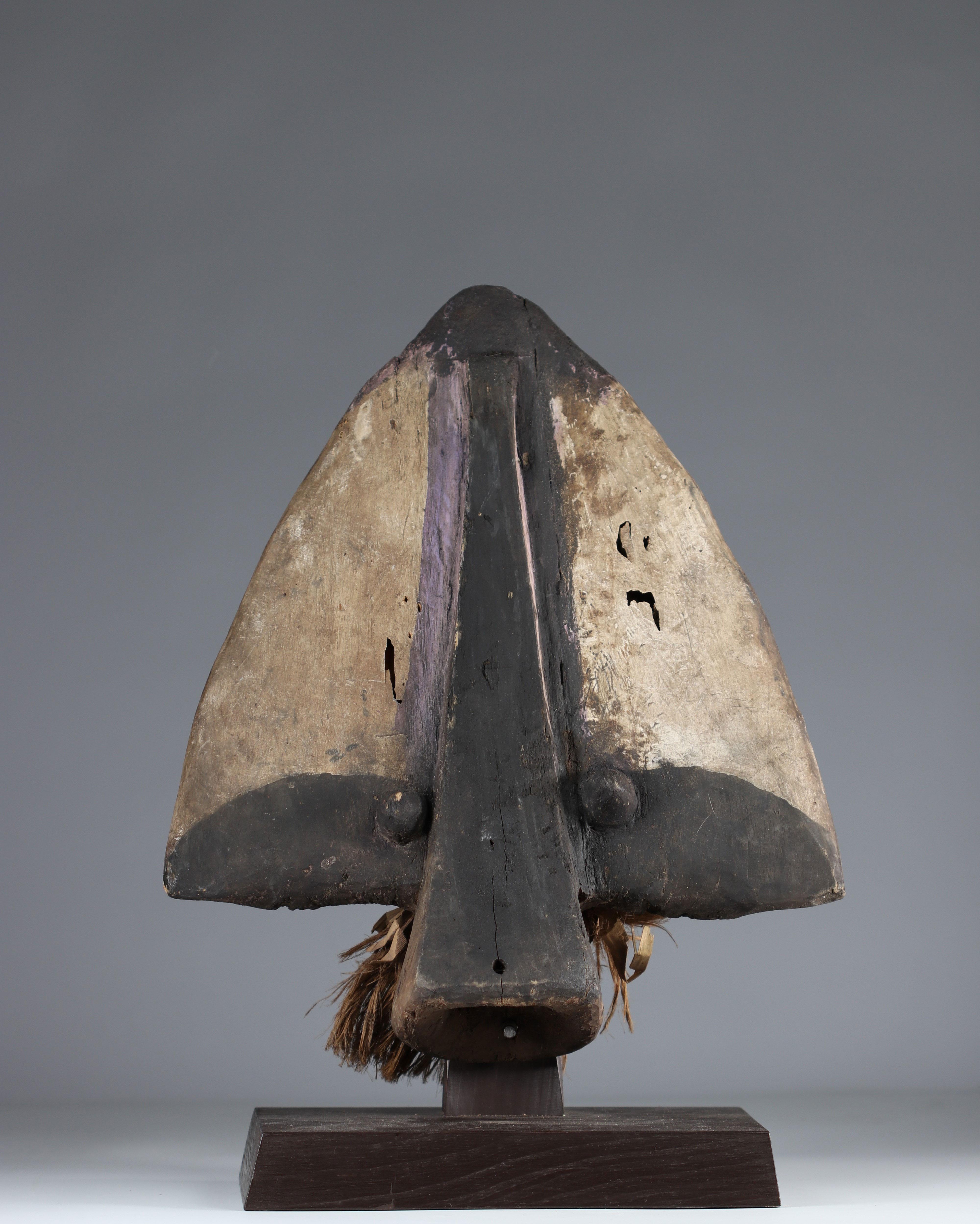 Bidjogo Guinnee Bissau shark mask, Portuguese Collection - Image 2 of 5