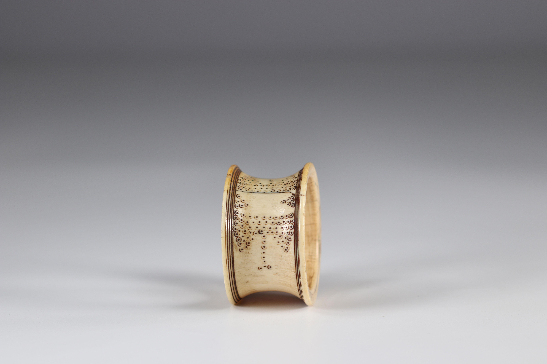 Ivory Zande bracelet - early 20th century - DRC - Africa - Image 4 of 4