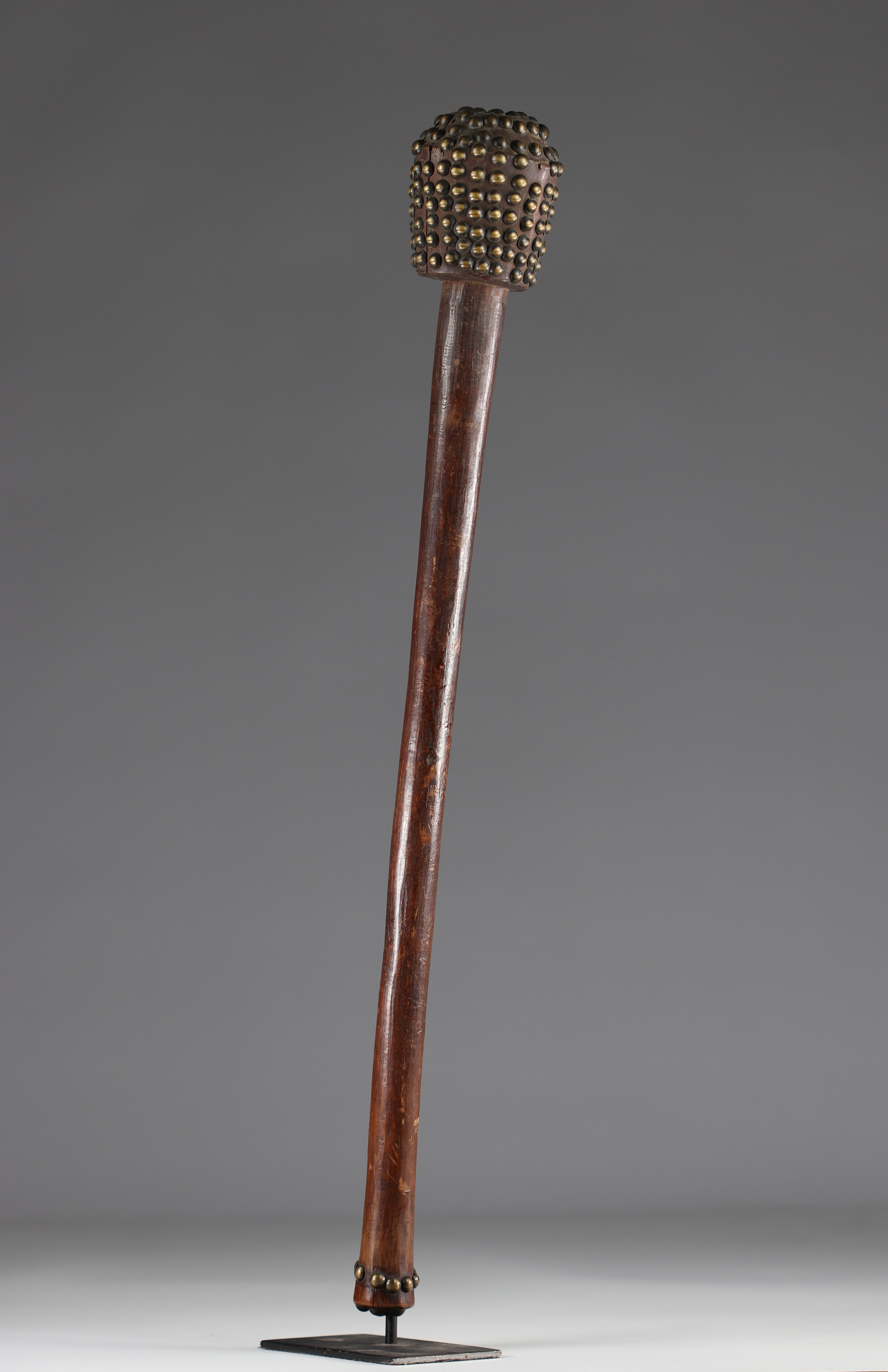 Tchokwe club - coll. private Belgian - early 20th century - DRC - Africa - Image 2 of 2