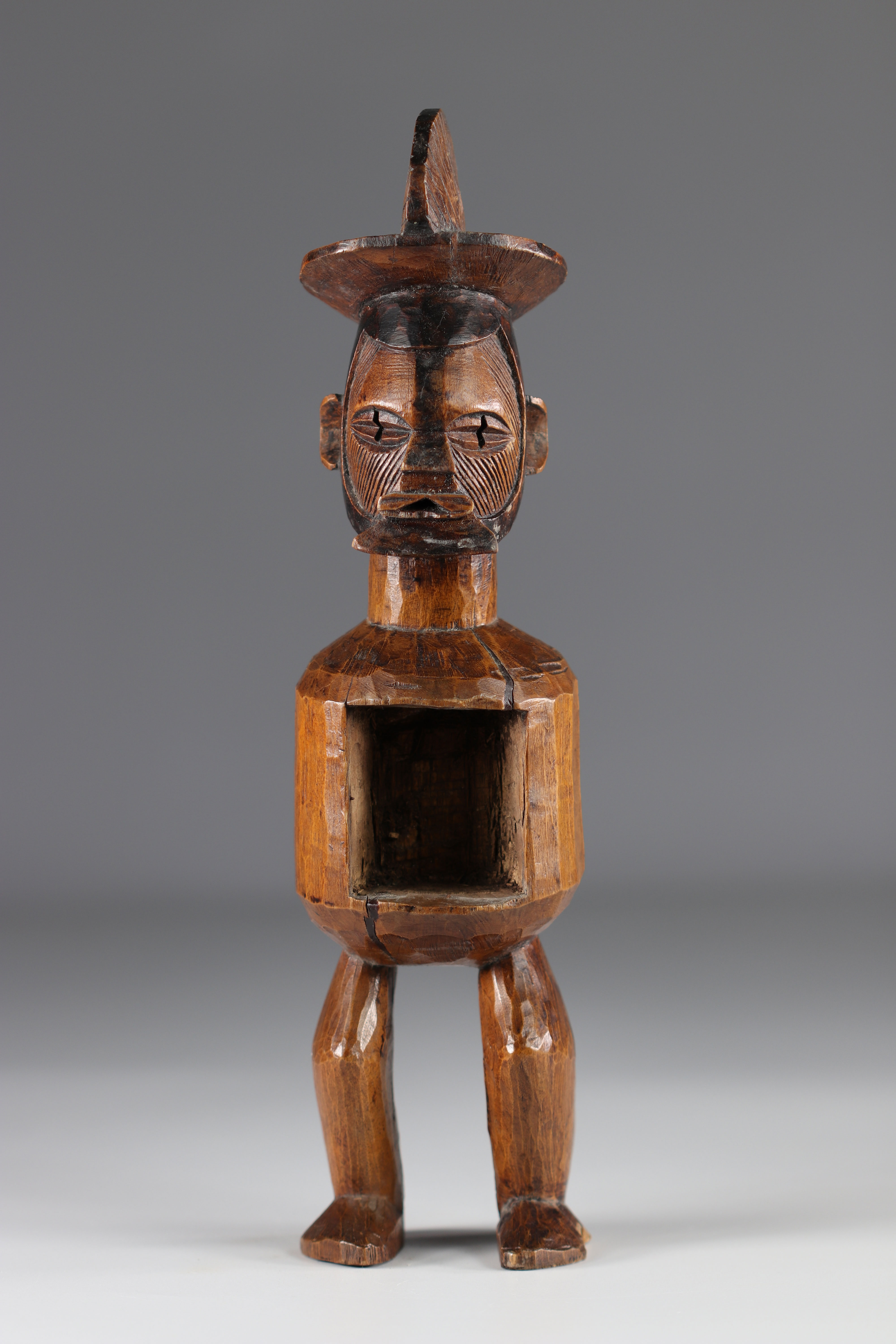 Teke ancestor statue - Early 20th Africa - DRC - Image 2 of 5