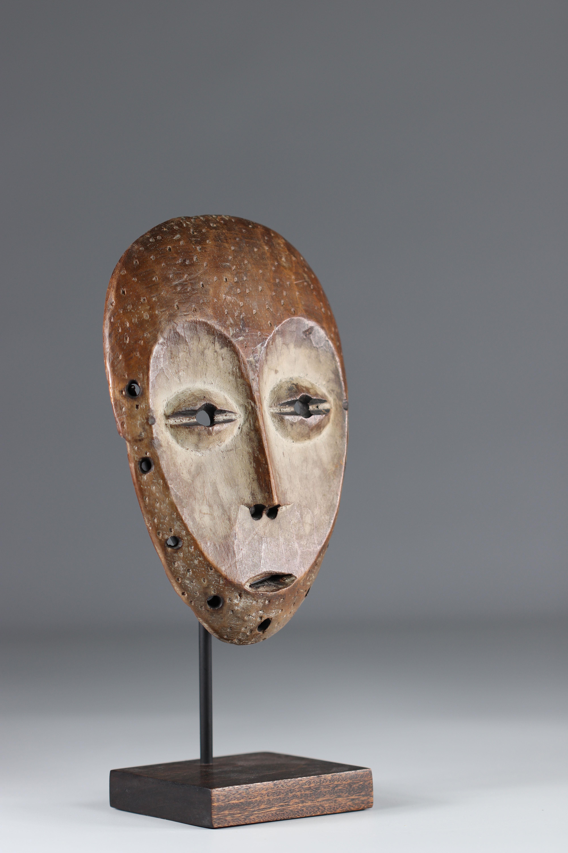 Masquette Lega mid 20th (Africa R.D.C.) 22 cm ex H. Peterheid (Germany) ex Fily Keita (USA) ex M. Bo - Image 3 of 5