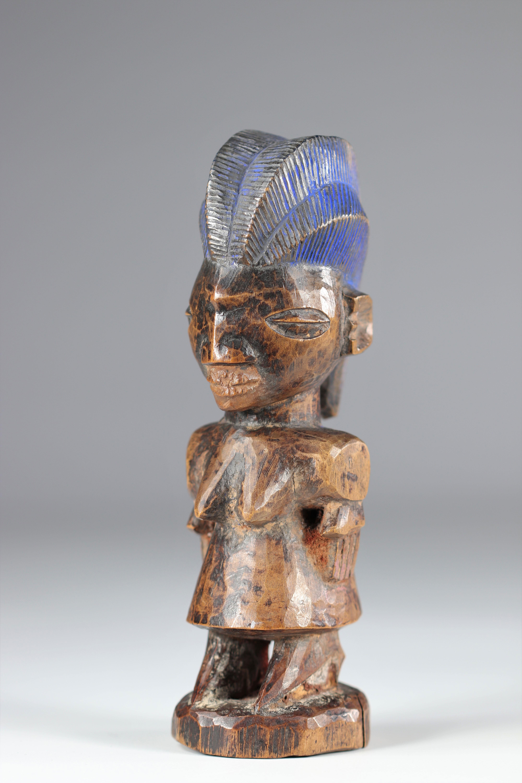 Ibedji statue - Yoruba - mid 20th century - ex: Voorhuis