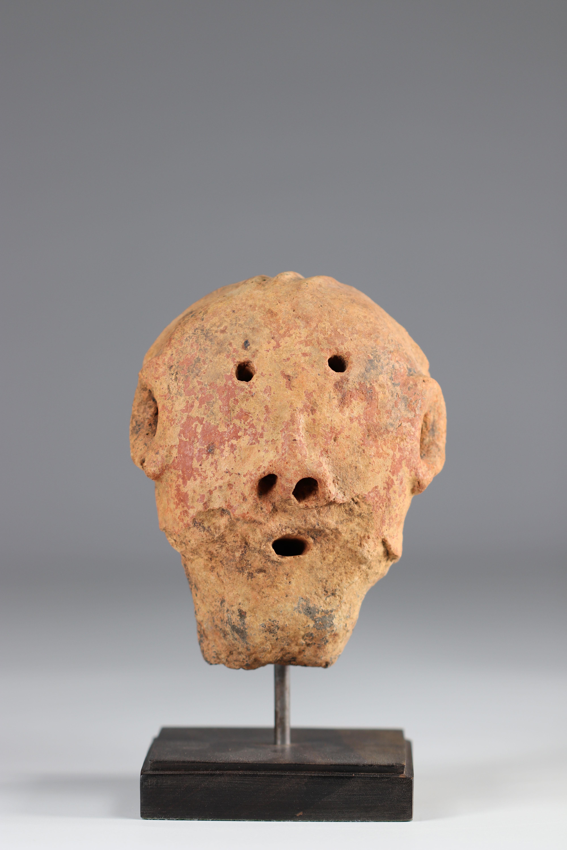 Fragment - Buro Burkina Faso, 13th-17th century - Belgian coll - Image 2 of 5
