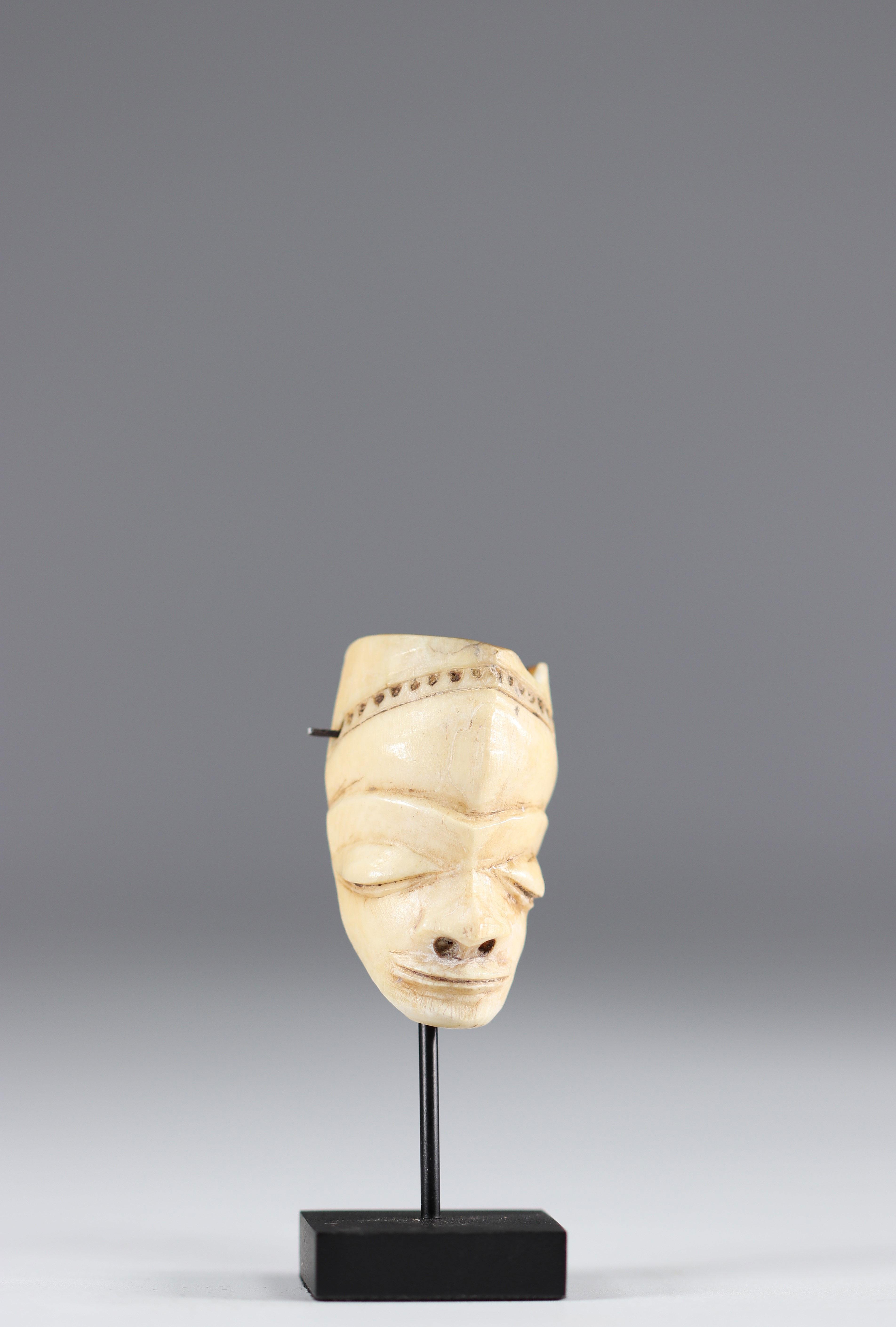 Pendant Pende ikhoko - private collar Belgium - mid 20th DRC - Africa - Image 2 of 4