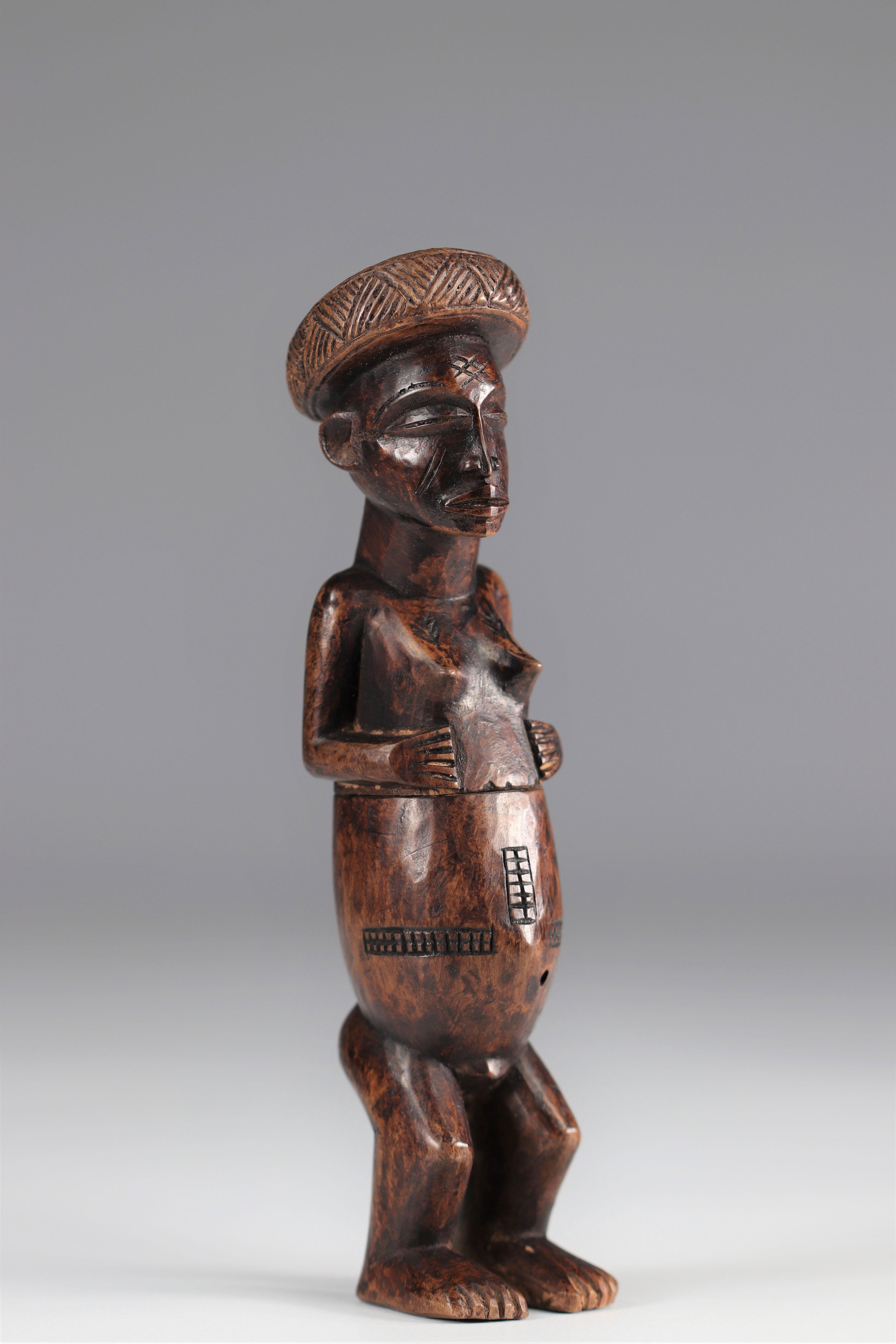 Lwena snuffbox - 20th century - DRC - Africa