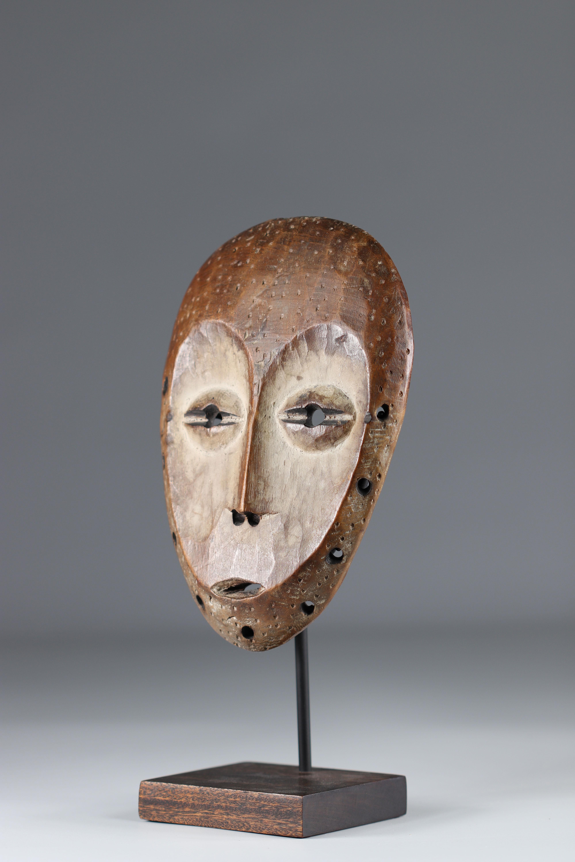 Masquette Lega mid 20th (Africa R.D.C.) 22 cm ex H. Peterheid (Germany) ex Fily Keita (USA) ex M. Bo