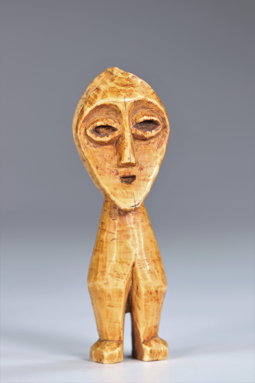 Statuette janus Lega DRC Ivory - mid20th - Image 5 of 5