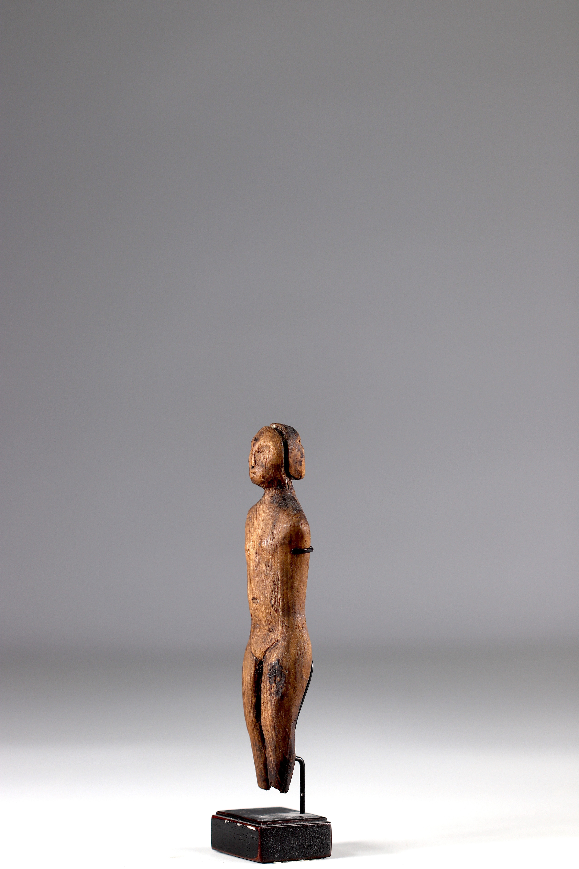 Old statuette of Eskimo shaman - Alaska - 19th century - Image 3 of 5
