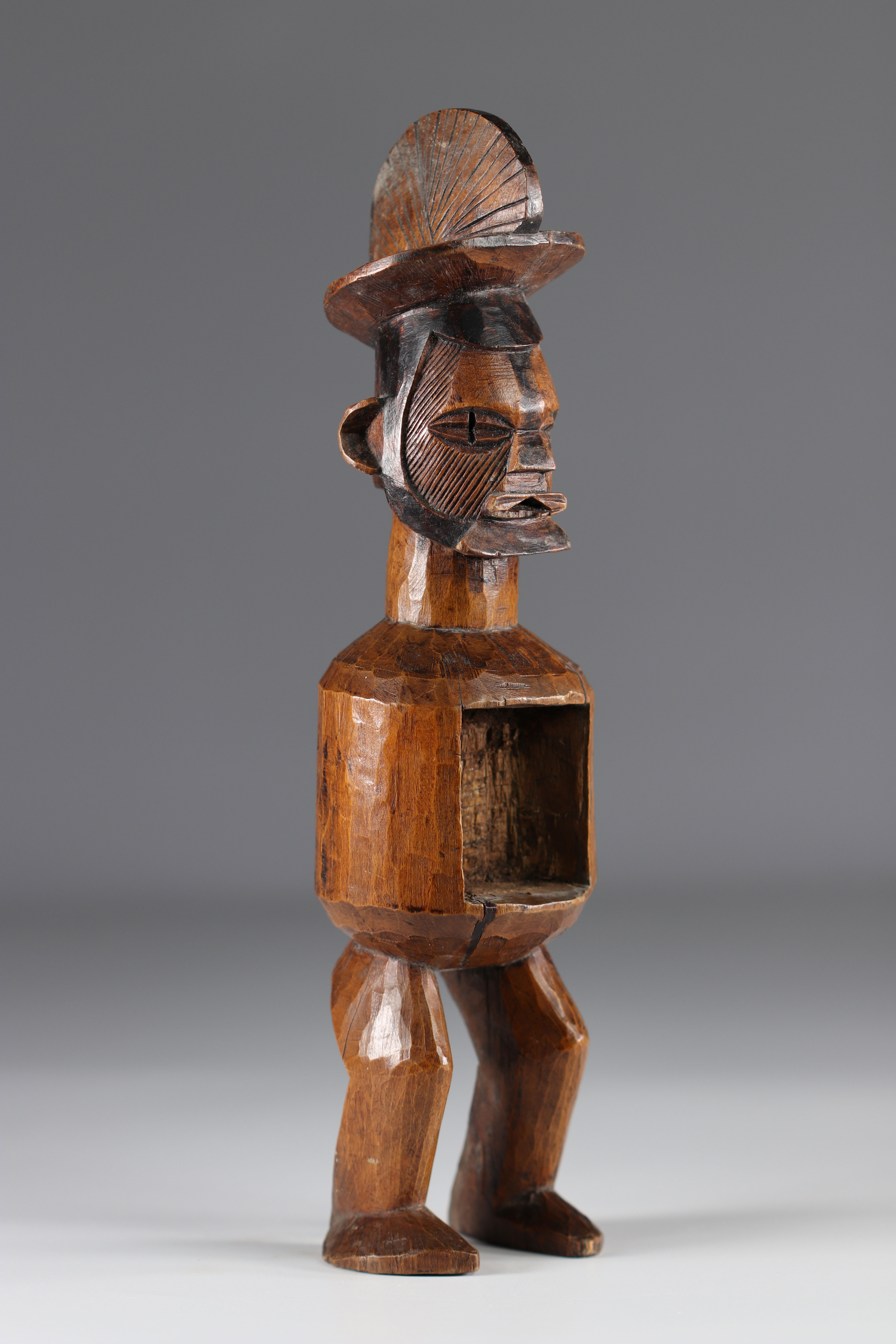 Teke ancestor statue - Early 20th Africa - DRC - Image 3 of 5