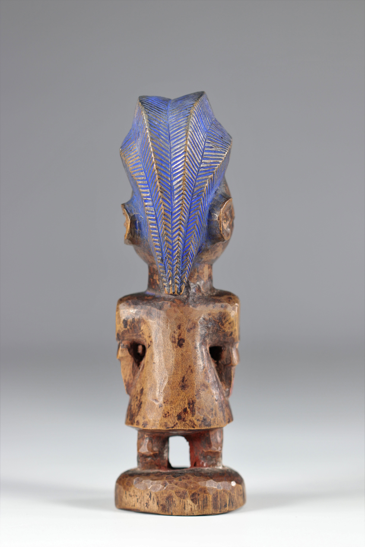 Ibedji statue - Yoruba - mid 20th century - ex: Voorhuis - Image 5 of 5