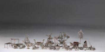 Large batch of miniature silverware