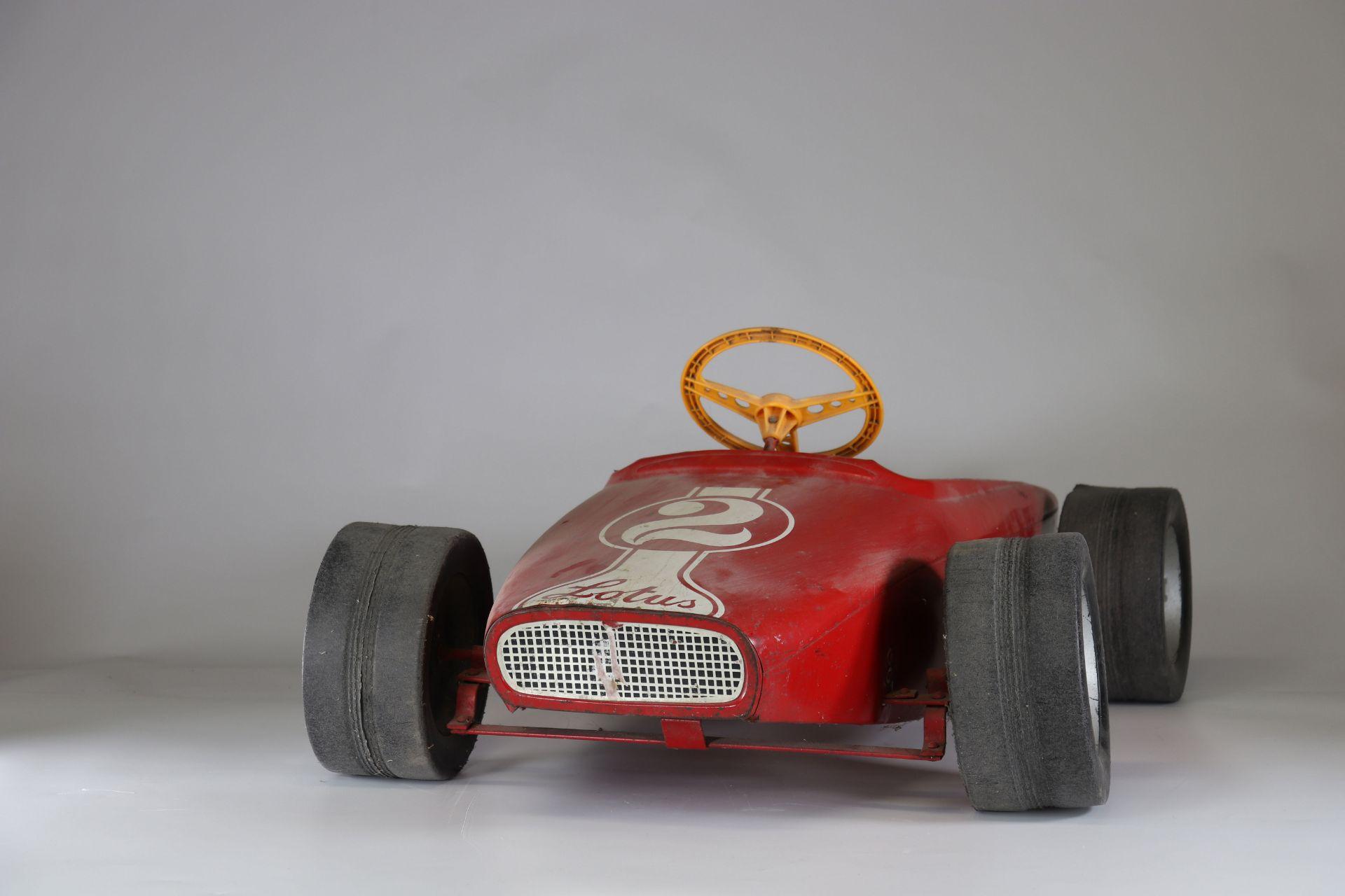 Old Lotus pedal car