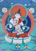Tibet Thangka original painting 19th