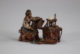 """Vienna bronze """"the alchemist"""""""