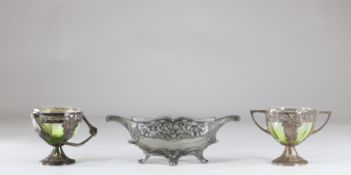 Lot of 3 Art Nouveau objects