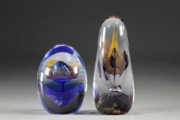 Maxence Parot - lot of 2 sculptures