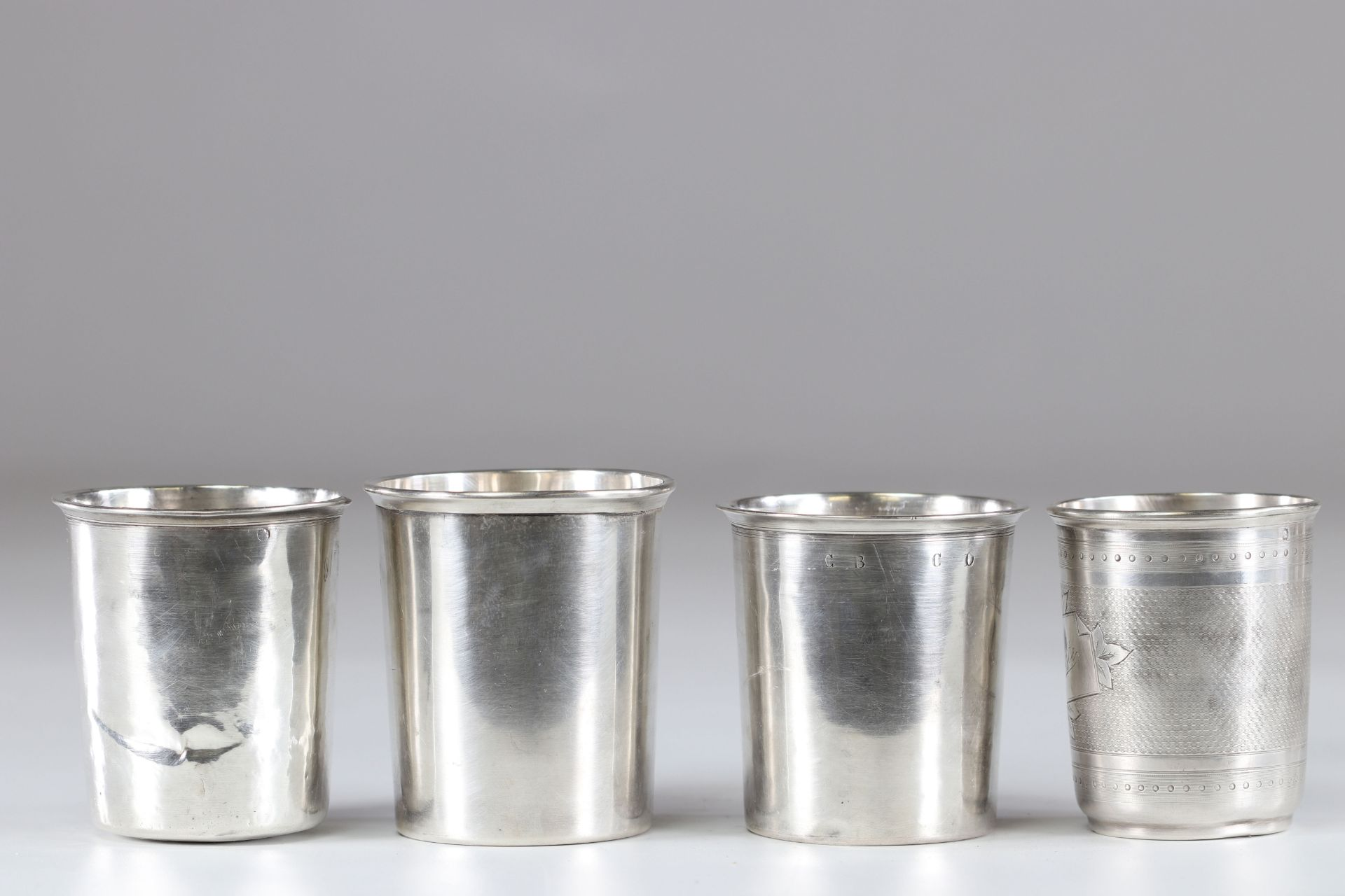 Timpani (15) in solid silver various hallmarks - Image 4 of 4