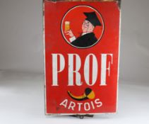 Artois enamel sign