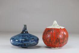 Max Modolo set of 2 vases