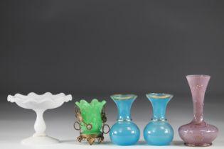 Lot of Napoleon III glassware