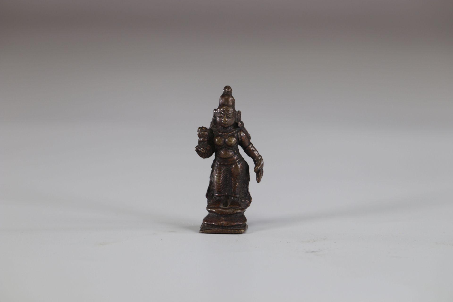 Asia bronze deity