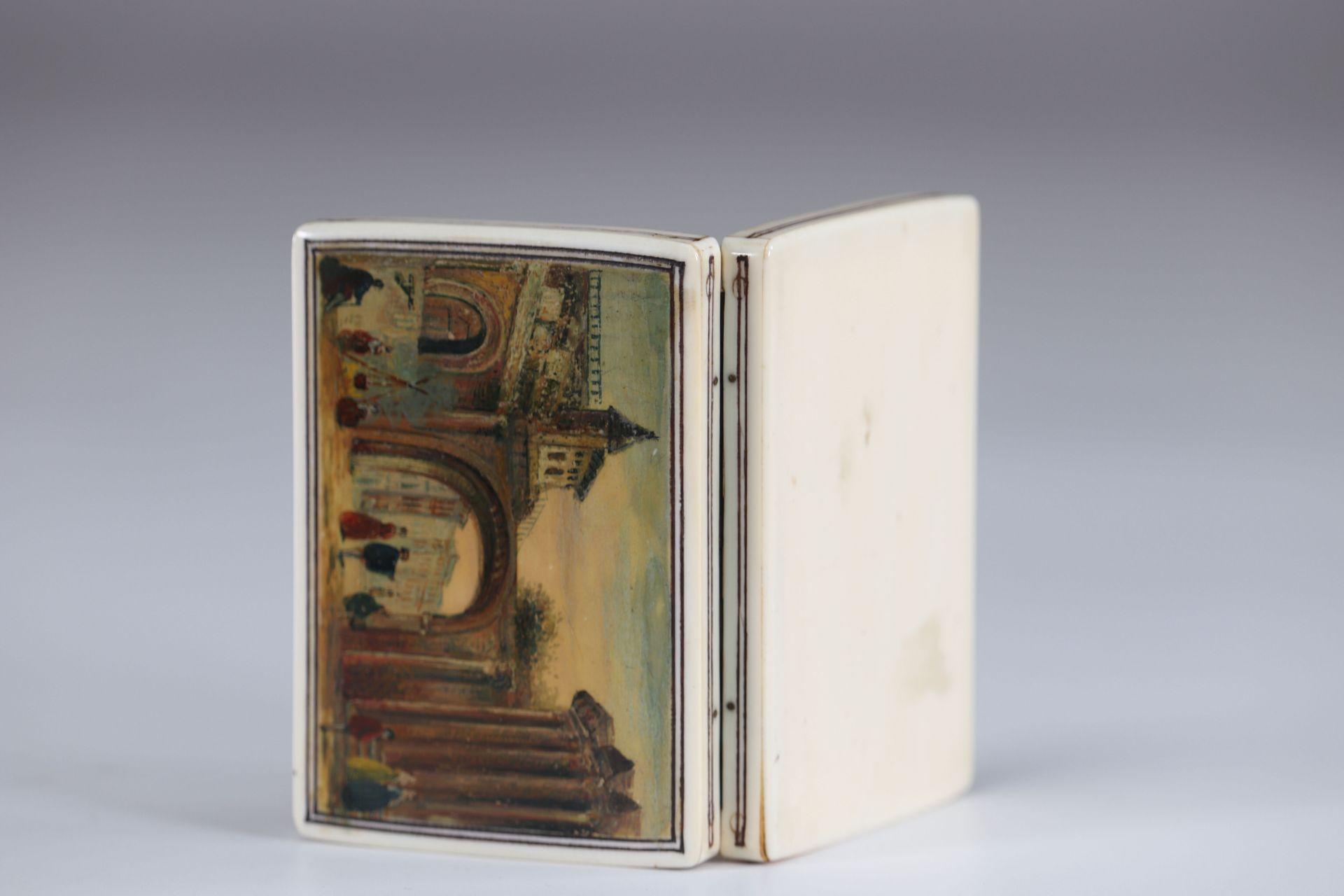 18th century martin varnish box - Image 3 of 3