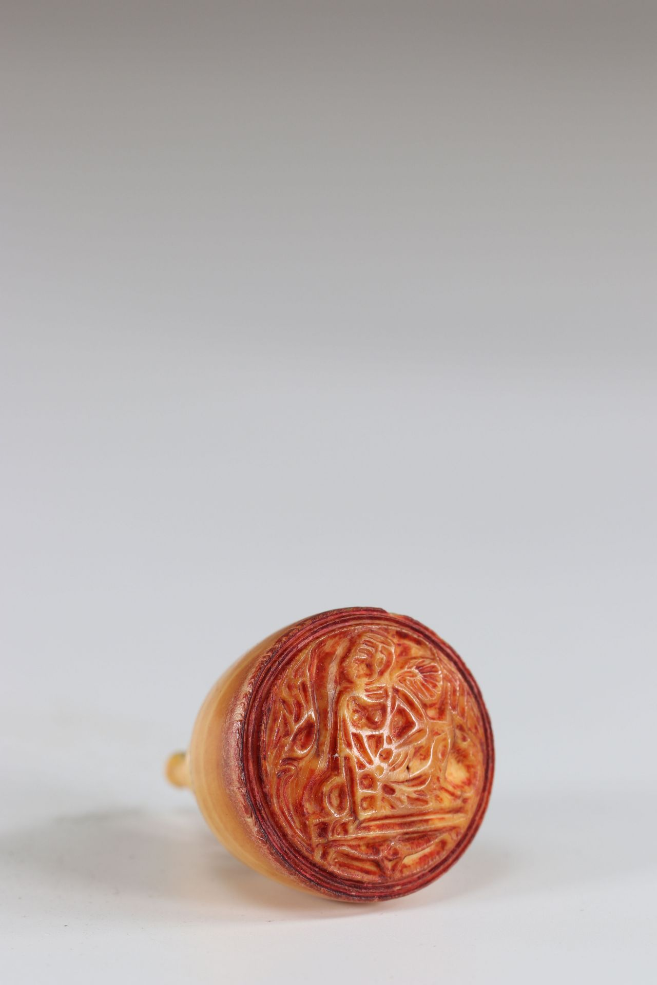 Seal in the shape of a stupa - Image 2 of 2