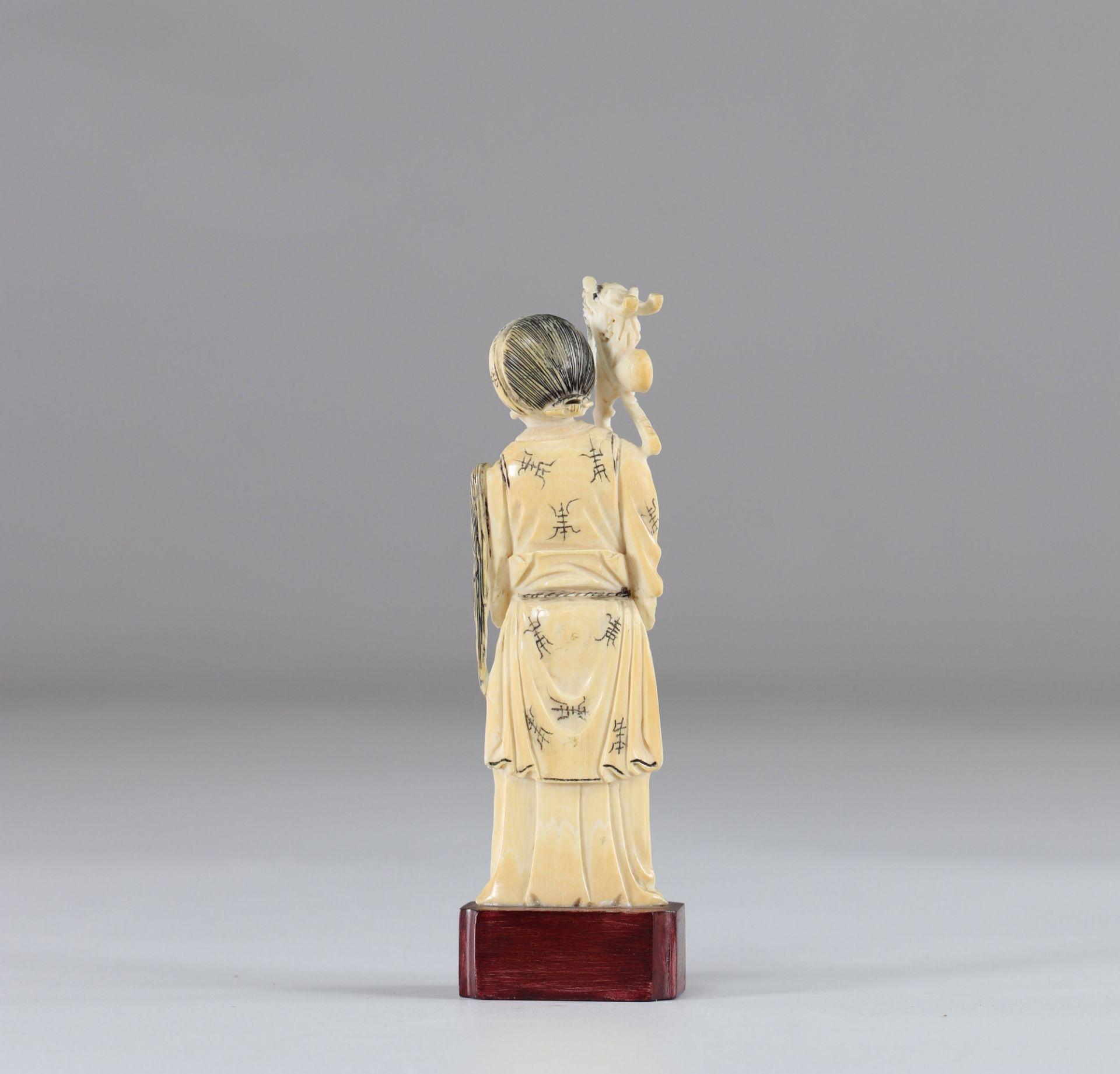 Ivory figure - Image 2 of 2