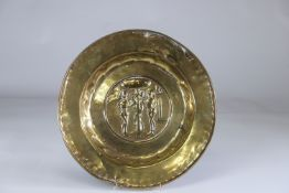 Offering dish decorated with Adam and Eve 17th Region: Germany Period: 17th