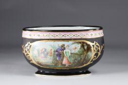 Paris porcelain planter beautiful romantic decor