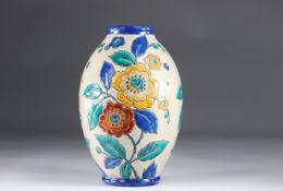 Keramis Art Deco vase flower decor