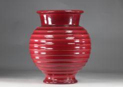 Villeroy & Boch imposing 70's vase