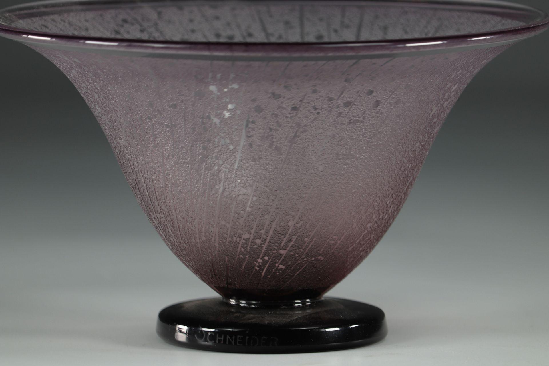 Schneider Acid-Cleared Art Deco Cut - Image 3 of 3