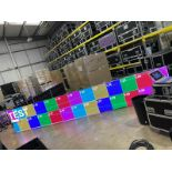 15m2 of Esdlumen Wing Plus 2.6mm LED display currently in use with a client comprising: 56x LED flat