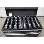 8x Esdlumen IDa2.8Plus LED indoor panels, pitch: 2.86mm, panel size: 500mm x 500m, total area: 2m2