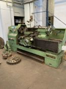 BSA Foremost Model CY6263BX x 1500 gap bed centre lathe, Serial no. 79102733, 450mm (gap in swing) x