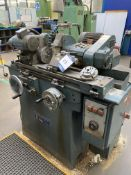 """Jones & Shipman 1212E cylindrical grinder, Serial No. BO73393, table size 18"""" x 4"""" with coolant"""